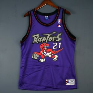 5a8fefd45 Image is loading 100-Authentic-Marcus-Camby-Champion-Raptors-Jersey-Mens-