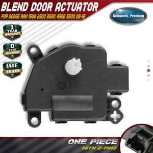 Brand New HVAC Heater Blend Door Actuator Dodge Ram