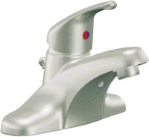 CA40711BN Cornerstone 1 Handle Bathroom Faucet Brushed Nickel
