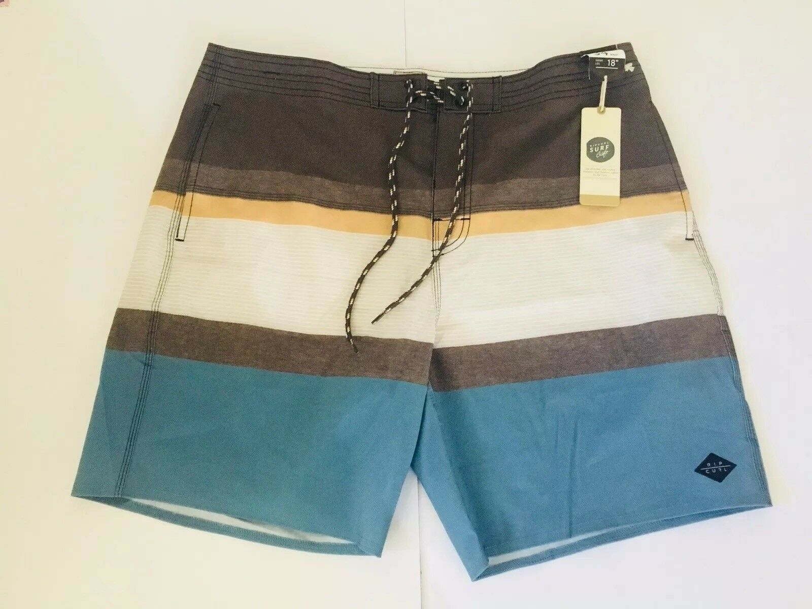 NEW RIP CURL SURF CRAFT 18  BOARDSHORT SIZE 34