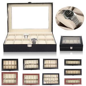 Caja para Relojes Organizador Joyas Relojero Estuche Cofre Reloj Joyero elegante