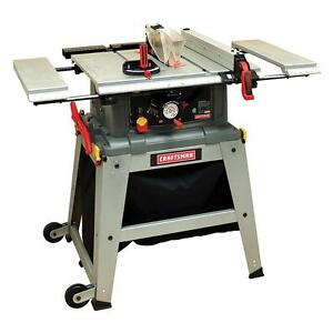 Craftsman 10 inch table saw w laser trac precision speed for 10 inch table saw craftsman