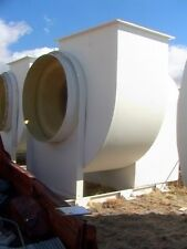 100 Horsepower Frp Chemical Fume Scrubber Blower Exhaust Fan To 90000 Cfm Or 13