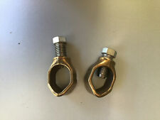 Two Erico Electric Ground Rod Acorn Clamps 12in 34 Direct Burial Rated Hdc34