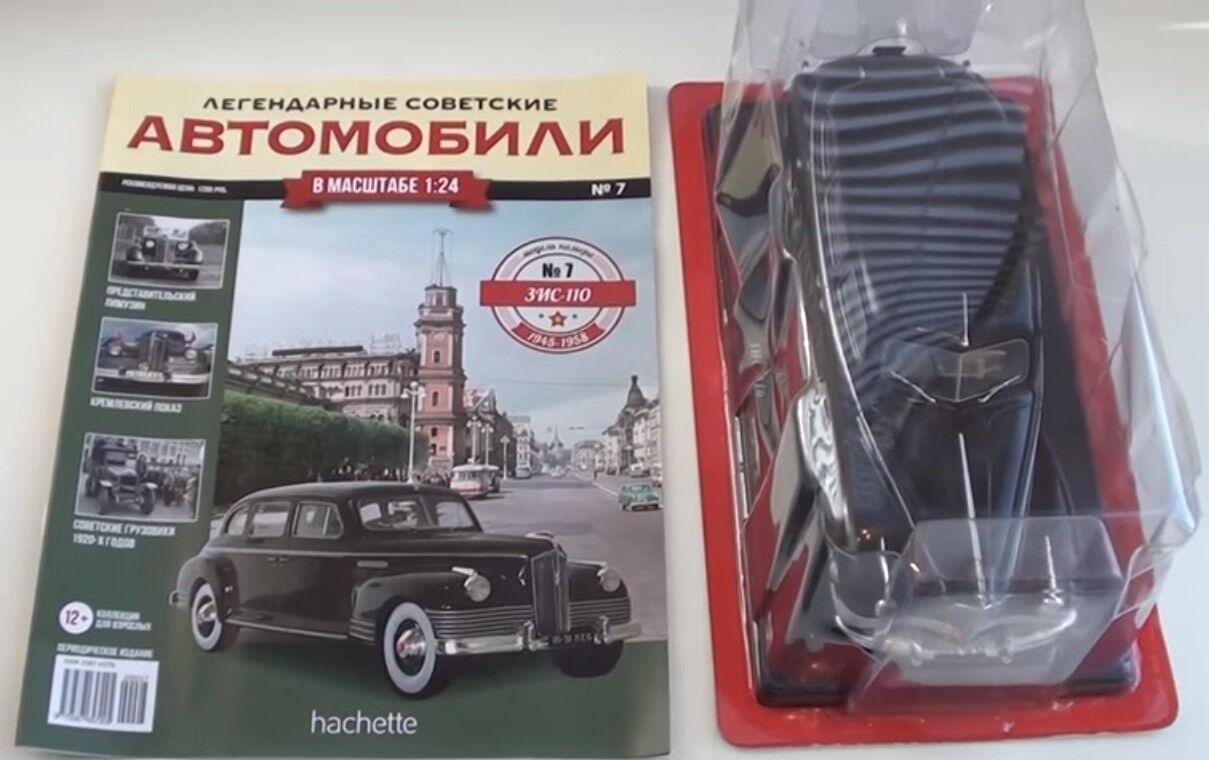 1 24 ZIS 110 Limousine - HACHETTE   Legendäre Legendäre Legendäre sowjetische Autos  (Ausgabe №7) cd72df