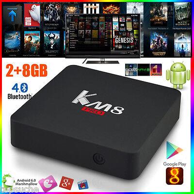 2GB+8GB Android 6.0 Amlogic S912 KM8 Pro OctaCore Smart TV Box 4K WIFI PC Player