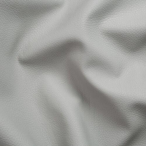 PU Möbel Kunstleder Polster Meterware Breite 140cm echt Leder Design hell grau