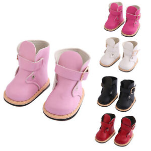 Cute-Fashion-Boots-Shoes-Clothes-Accessory-For-18-Inch-American-Girl-Doll