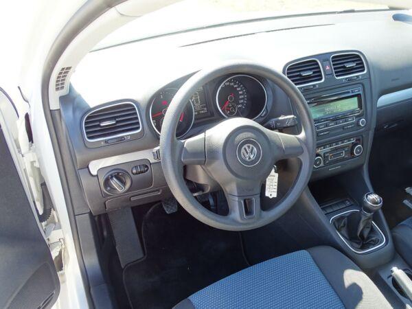 VW Golf VI 1,6 TDi 105 BlueMotion billede 9