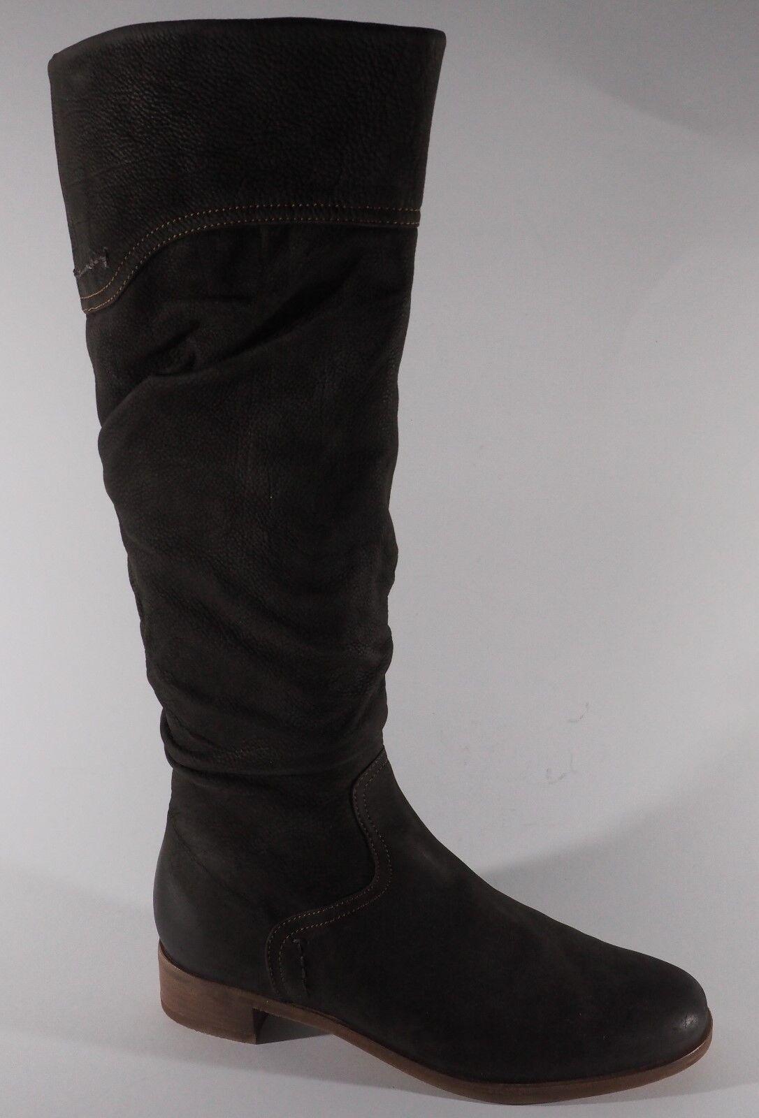 Hassia Zapatos señora unpaar 39 38,5 lotes depósitos botas de cuero marrón NUEVO