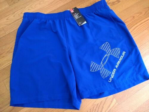 "#1286060 NWT 8/"" Inseam Mens UNDER ARMOUR Woven Graphic Shorts"