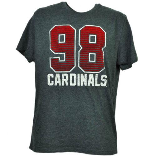 Baseball & Softball Ncaa Louisville Cardinals Filz 98 Karten Kurzärmelig Grau T-shirt Mens Erwachsen Weitere Ballsportarten