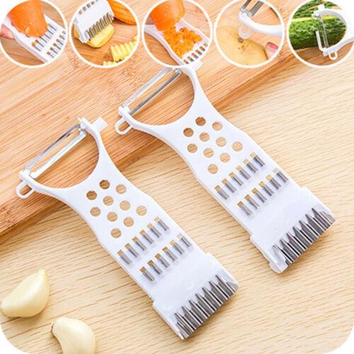 Kitchen Tools Gadgets Helper Vegetable Fruit PeelerParer Julienne CutterSlicerHV