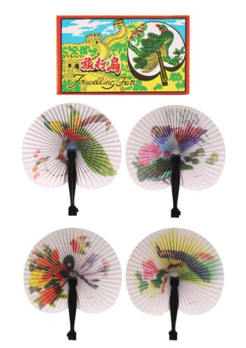 Folding Traditional Chinese Paper Fan Hand Held Wedding favours Party Bag Filler