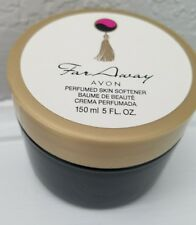Avon Far Away Perfumed Skin Softener 5 Oz Jar Cream Sensuous 150ml