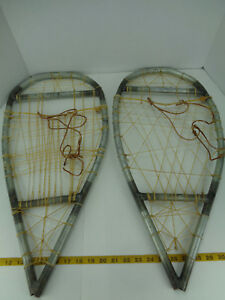 Image is loading Homemade-Handmade-Metal-Snowshoes-Snow-Shoes-25-3-