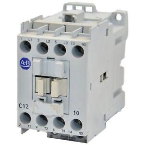 110//120 VAC 50//60 Hz Coil Screw Terminals 12A 0 N.C 1 N.O 100-C12D10 100-C IEC Contactor