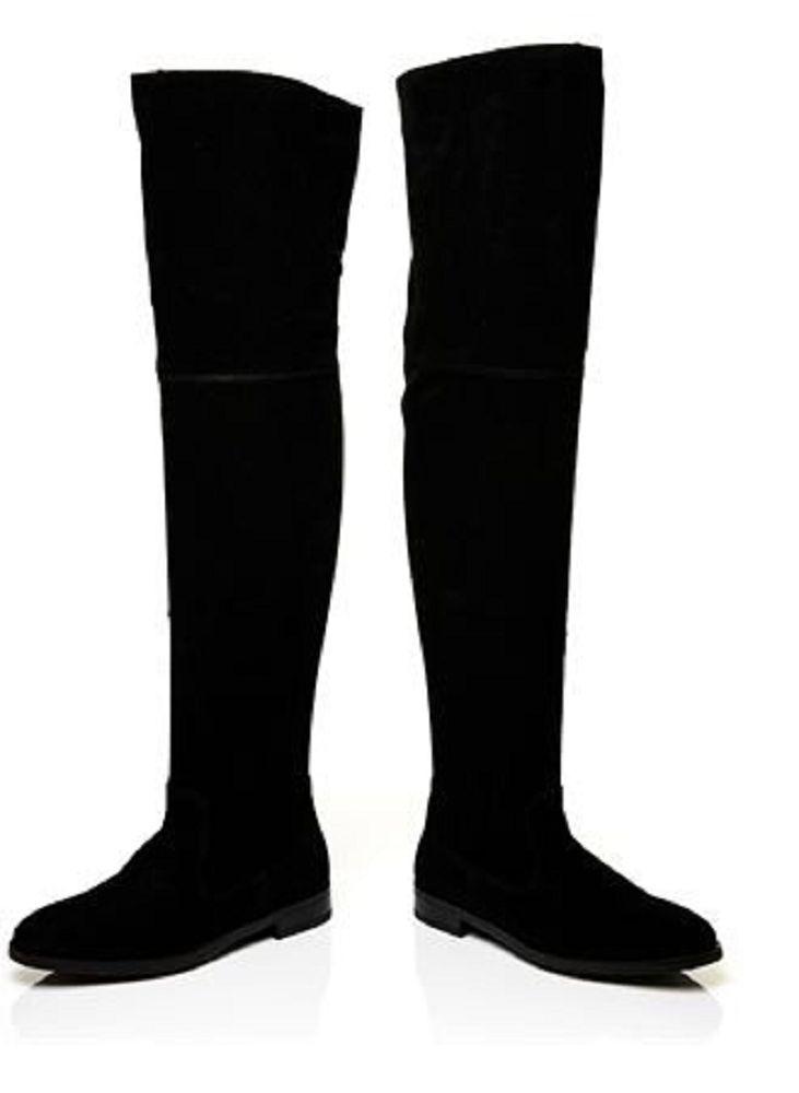 Moda In Pelle Graneli Long Bottes UK 5 38 EU