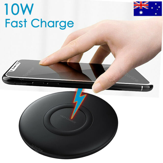 Samsung Galaxy S10/Plus S9 S8 S7 S6 Fast Wireless Charger Genuine Charging Pad