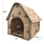 thumbnail 5 - Pet-Cat-Igloo-Removable-Covered-Bed-Small-Dog-Soft-Bed-Met-House-With-Lovely