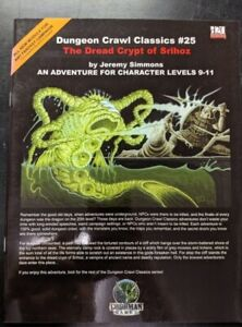 1x-Dungeon-Crawl-Classics-25-The-Dread-Crypt-of-Srihoz-Used-Fine-dungeon-crawl