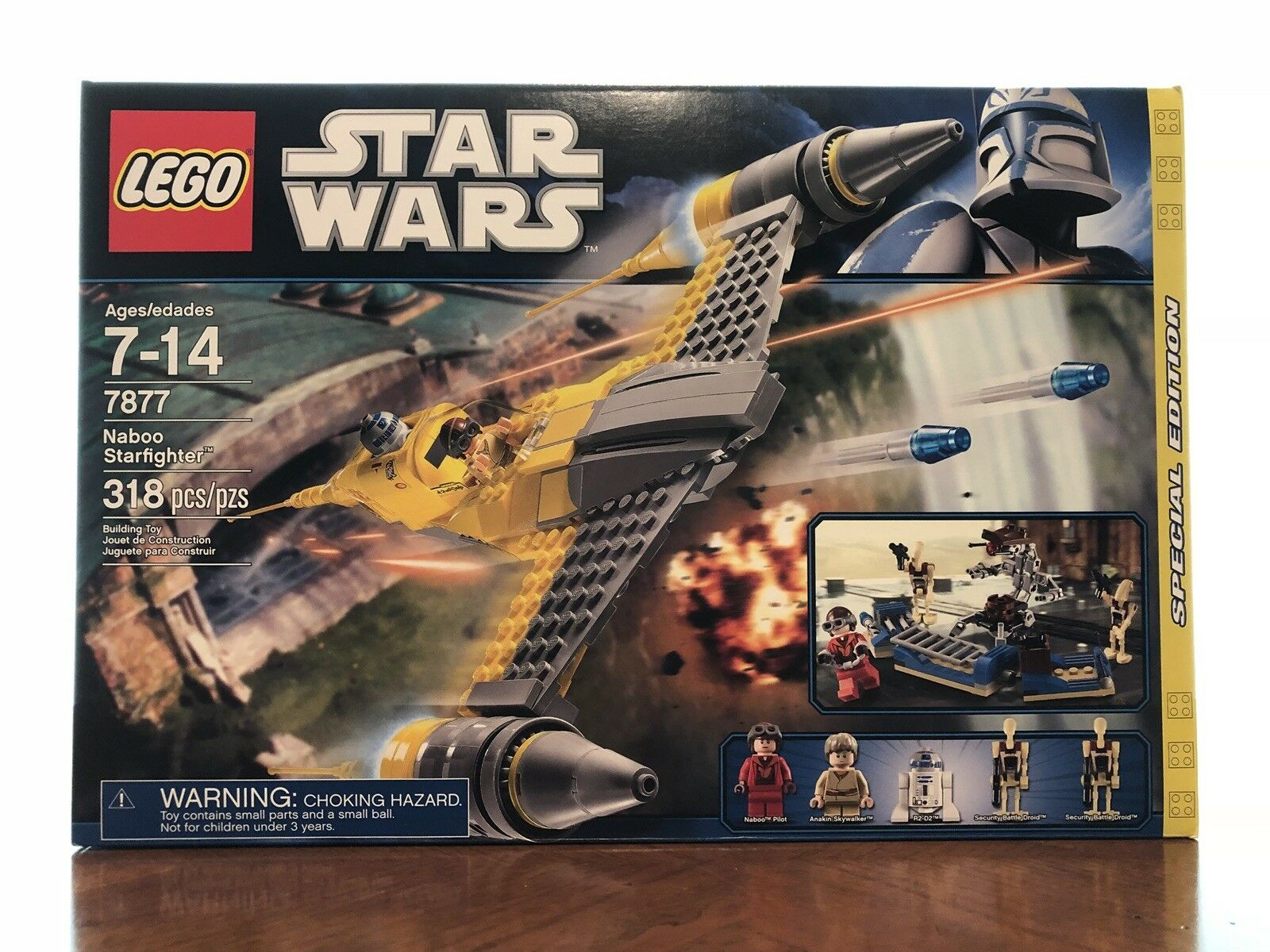 LEGO 7877 Star Wars Exclusive Special Edition - Naboo Starfighter (Discontinued)