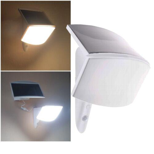 LED Solar-Außen-Strahler mit Bewegungsmelder Fluter Flutlicht Wandstrahler