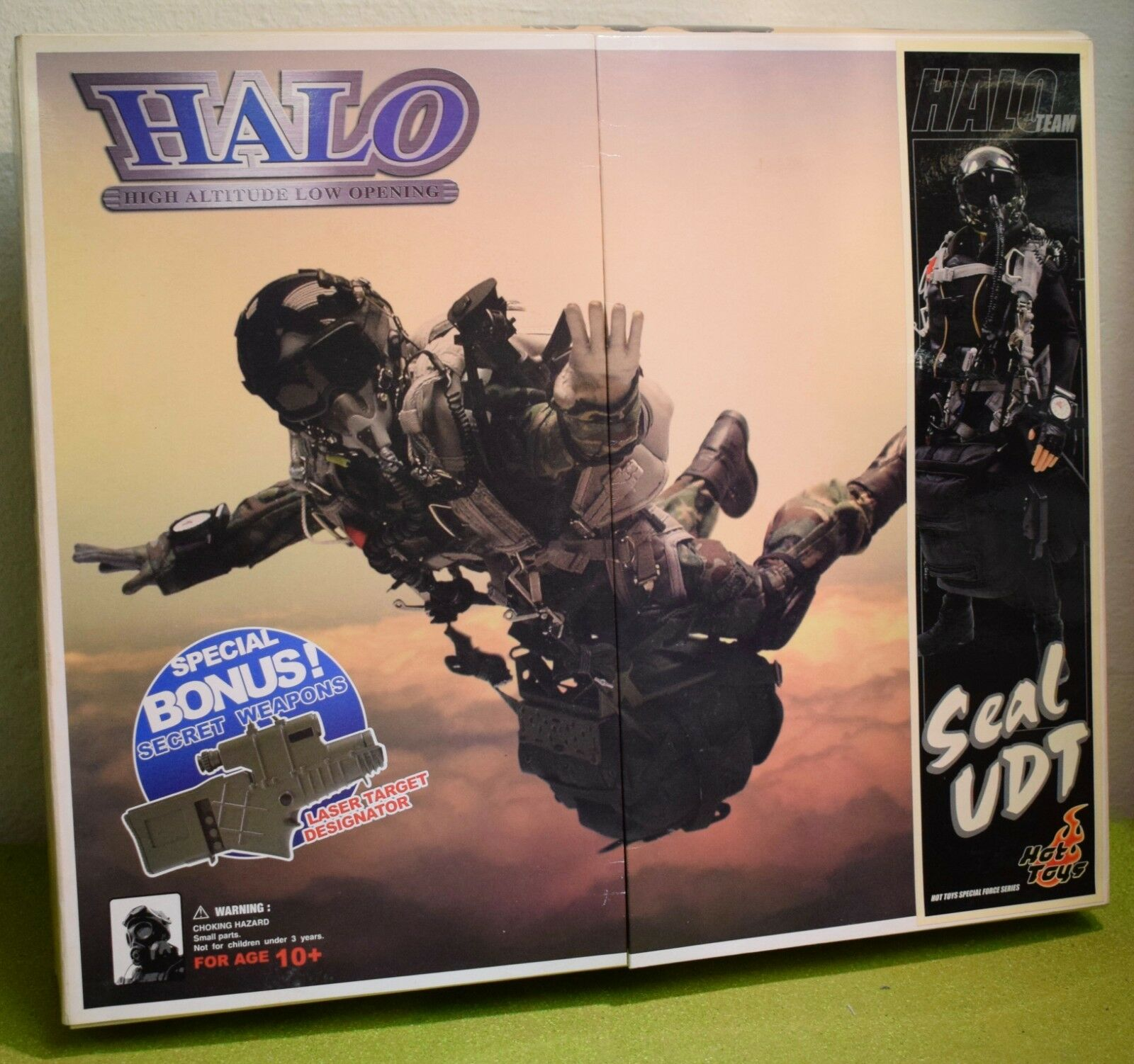 HOT TOYS 1 6 SCALE MODERN US HALO HIGH ALTITUDE LOW OPENING SEAL UDT