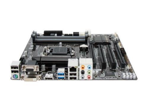 GIGABYTE GA-B85M-D3H LGA 1150 Intel B85 HDMI USB 3.0 Micro ATX Motherboard