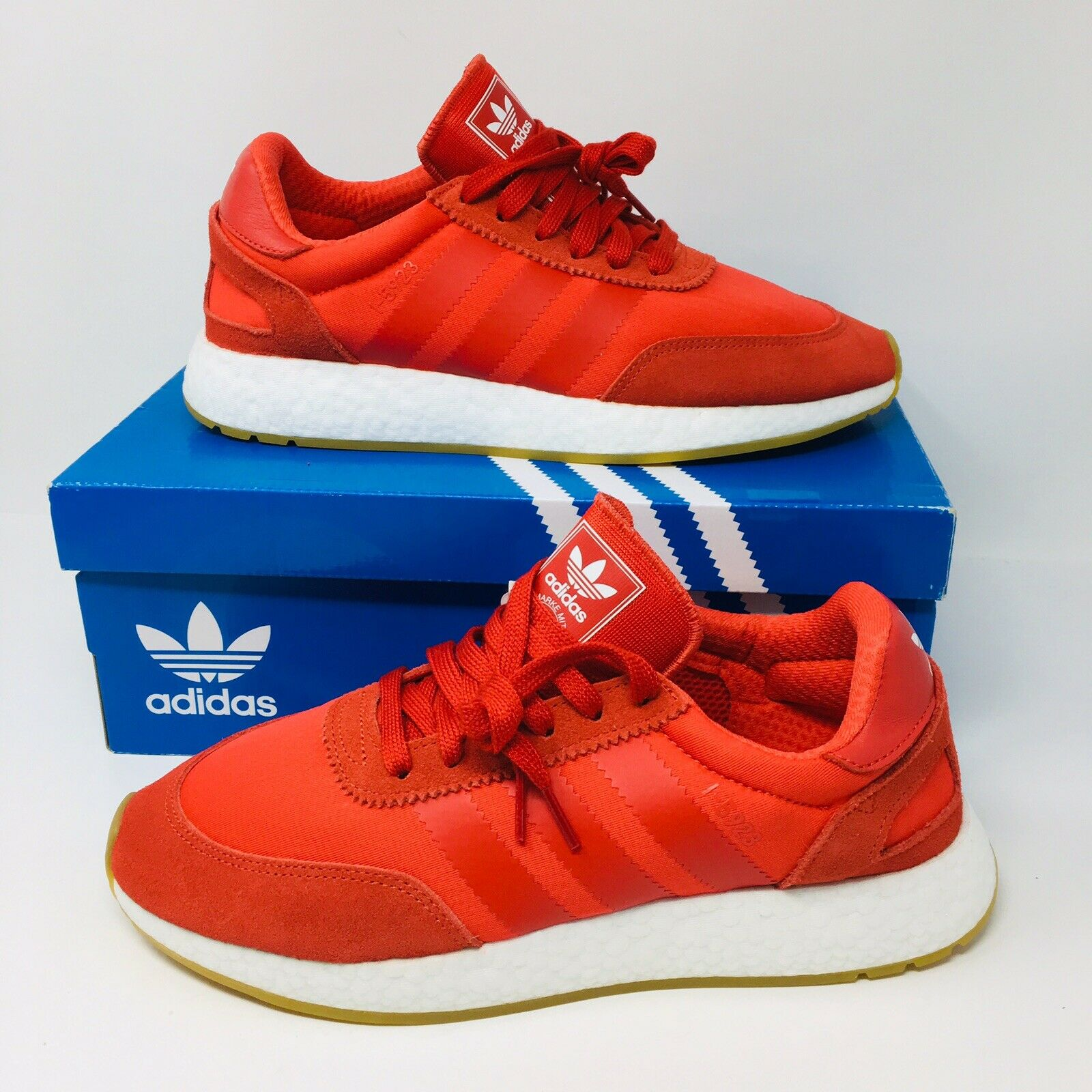 NEW Adidas Iniki 2 Boost (Men Size 9.5) Red Running shoes NMD CS1 Ultra Boost