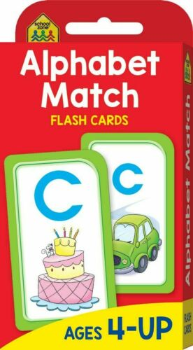 Alphabet Match Flash Cards Suitable for Kids Ages 4-6 Early Learning Hinkler
