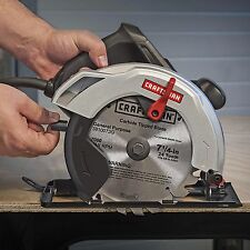 "Craftsman 12 Amp 7-1/4-inch 7.25"" Corded Electric Circular Saw Home Work Station"
