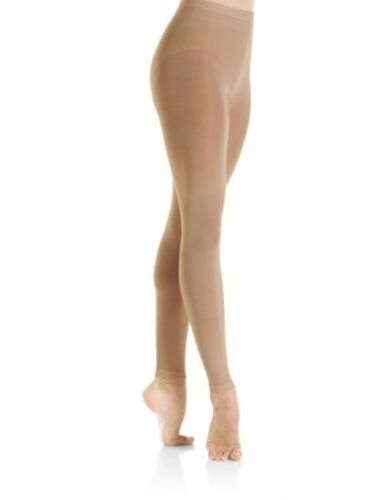 MONDOR 3312 FOOTLESS PERFORMANCE ICE SKATING DRESS TIGHTS - ADULTS & CHILDS