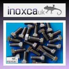 25 M5 x 12 in acciaio Inox Esagonale Testa Esagonale Set Vite Bullone GR A2-70 DIN 933 A2