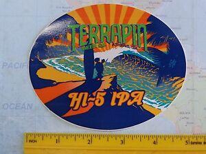 Sammlerstueck-Bier-Aufkleber-lt-gt-Sumpfschildkroete-Co-Hi-5-Ipa-Athen-Georgia