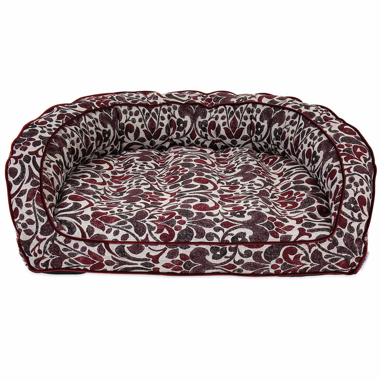 La-Z-Boy Harper Merlot Sofa Dog Bed, 43  L X 35  W