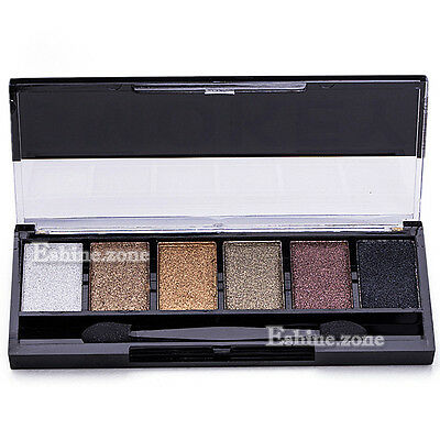 6 Colors Makeup Neutral Eye Shadow Palette Warm Eyeshadow Shimmer Nude Cosmetics