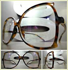 396c4b5dc7 item 2 OVERSIZED CLASSIC VINTAGE 70 s RETRO Style Clear Lens EYE GLASSES  Tortoise Frame -OVERSIZED CLASSIC VINTAGE 70 s RETRO Style Clear Lens EYE  GLASSES ...