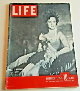 December 17, 1945 LIFE Magazine History 1940s advertising FREE SHIP Dec 16 12