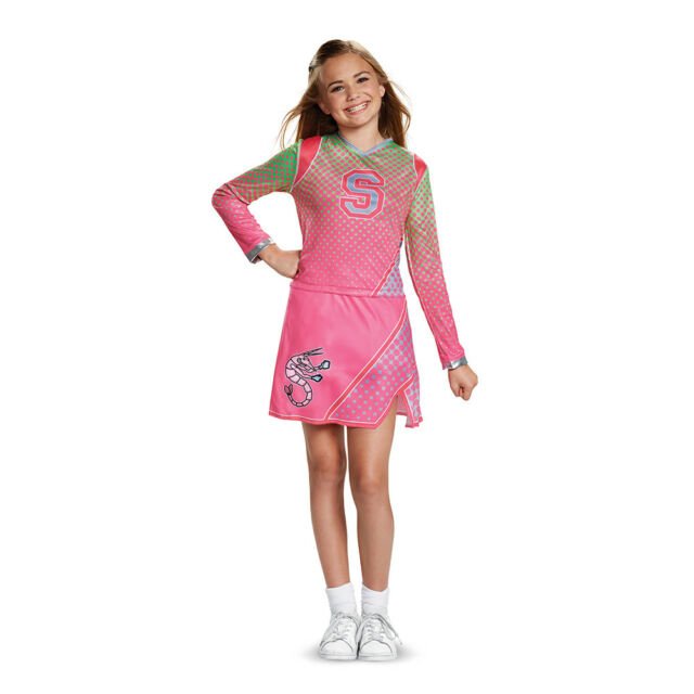 Z-O-M-B-I-E-S Classic Addison Cheerleader Costume For Kids
