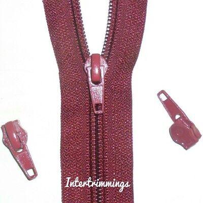 No6 cadena continua Cremallera /& Controles Deslizantes Elige Color /& Largo tapicería
