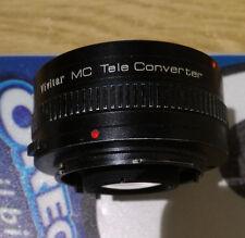 Olympus OM Vivitar MC Teleconverter convertitore di focale 2x - 21