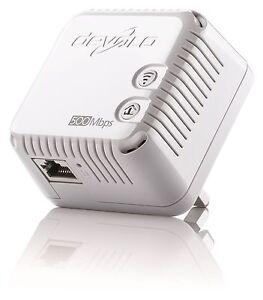 Belle Devolo 9078 Cpl Dlan 500 Wifi Unique Add-on Adaptateur, Sans Boîte Mais Neuf-afficher Le Titre D'origine