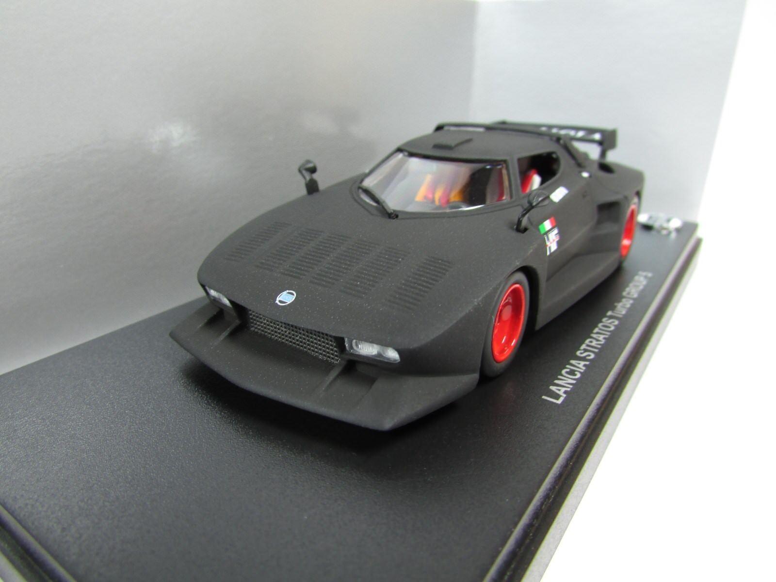 Kyosho 1 43 Lancia Stratos Grupo Turbo 5 Negro Mate Edición Limitada Mega Raro