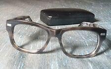 Warby Parker Crosby 150 53-18 140 Grey Marbling Metal Plastic Frame Eyeglasses