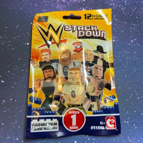 WWE Stackdown Series 1 Blind Bags *BRAND NEW* Collectibles 5 Packs