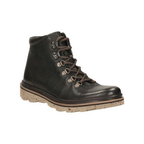 Clarks Originals Men Frelan Alp nero Oily  lea Ankle stivali UK 6,7,8,10 G  saldi
