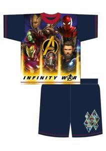 Boys Avengers Short Pyjamas