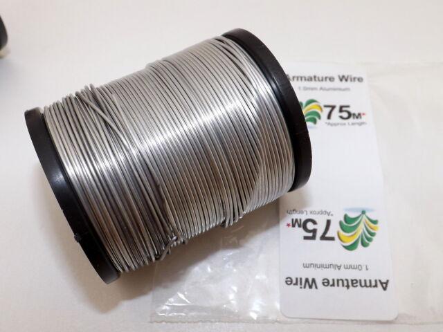 1mm Aluminium Craft, Modelling, Armature Wire, PICK LENGTH, FREE 1st CLASS POST!