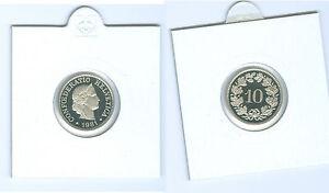 Suisse 10 Centimes Pp De Kms (choisissez Parmi: 1975 - 2006)-afficher Le Titre D'origine Pour Effacer L'Ennui Et éTancher La Soif